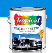 Tropical Acrylic House Paint